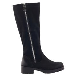 Sergio Leone women's boots 0908 black