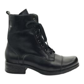 Boots with Angello 2060 zipper black