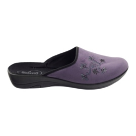 Befado women's shoes slippers 552D006 violet multicolored