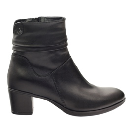 Black Leather boots Gregors 614