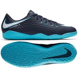Indoor shoes Nike HypervenomX Phelon Iii Ic navy multicolored