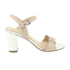 Caprice sandals women's shoes 28303 pink