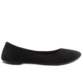 Ballerinas Womens Soft Black