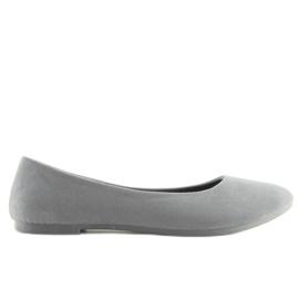 Women's ballet shoes soft gray D.GREY