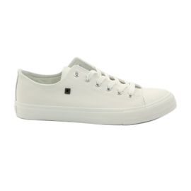 White Sneakers sneakers for Big star shoelace
