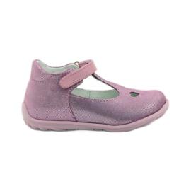 Ren But pink Ren shoes 1467 heather ballerinas