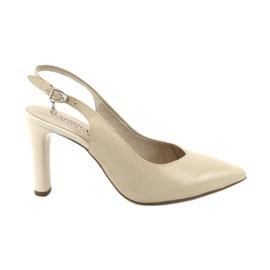 Caprice pumps sandals women's shoes 29603 brown
