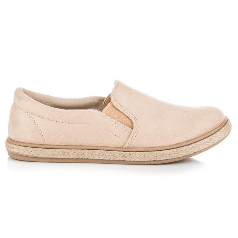 Seastar Suede Slipons Espadrilles brown