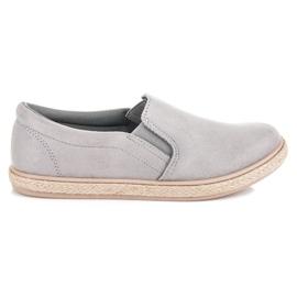 Seastar Suede Slipons Espadrilles grey