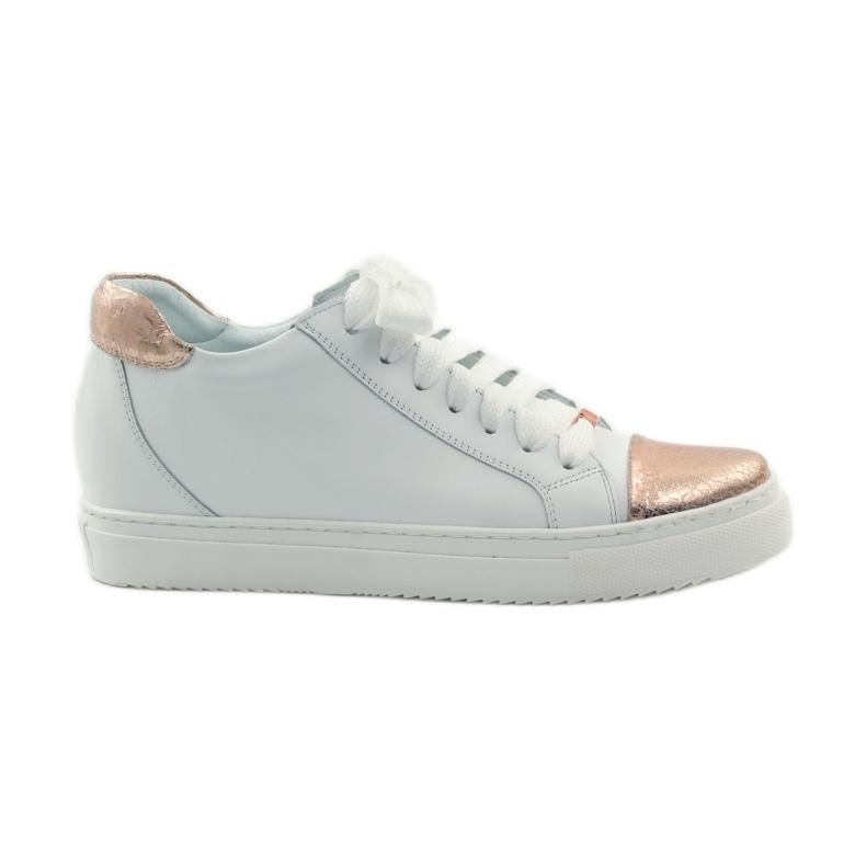 Women's sports shoes Badura white copper