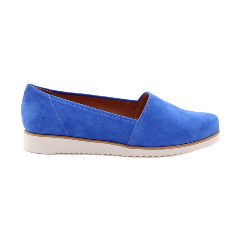 Badura women's blue shoes