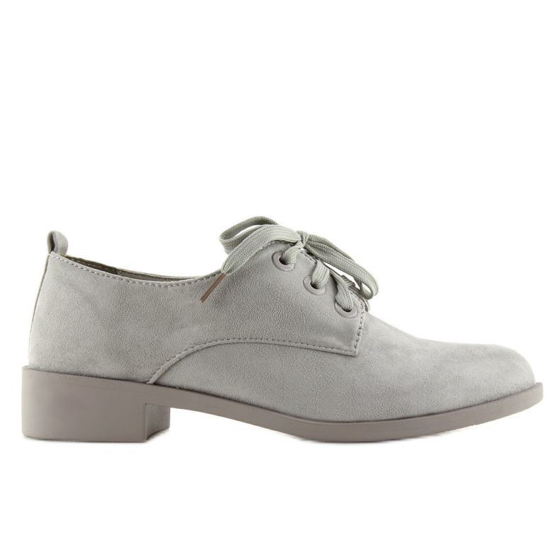 Moccasins Women's Lace-up Gray Nc138 Gray grey
