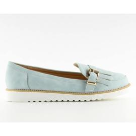 Women's loafers blue 7210 Blue