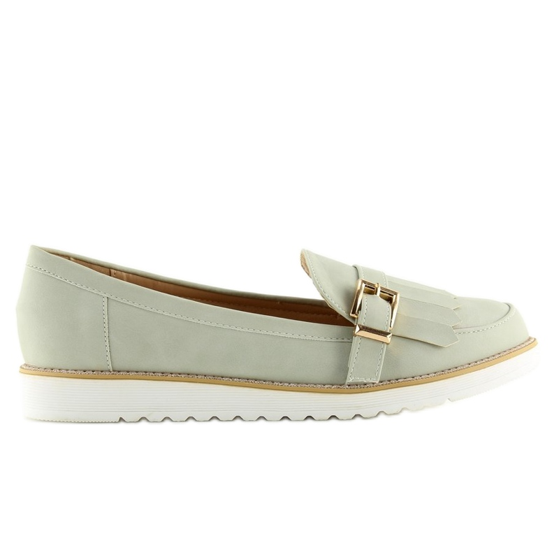 Moccasins for women gray 7210 Gray grey
