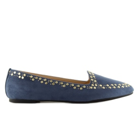Loafers lords navy 1389 Navy