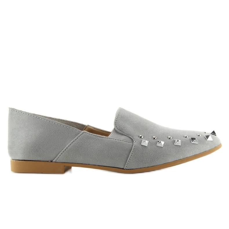 Loafers lordsy with gray 1415 Gray studs grey
