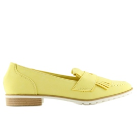 Loafers yellow 1174 Yellow