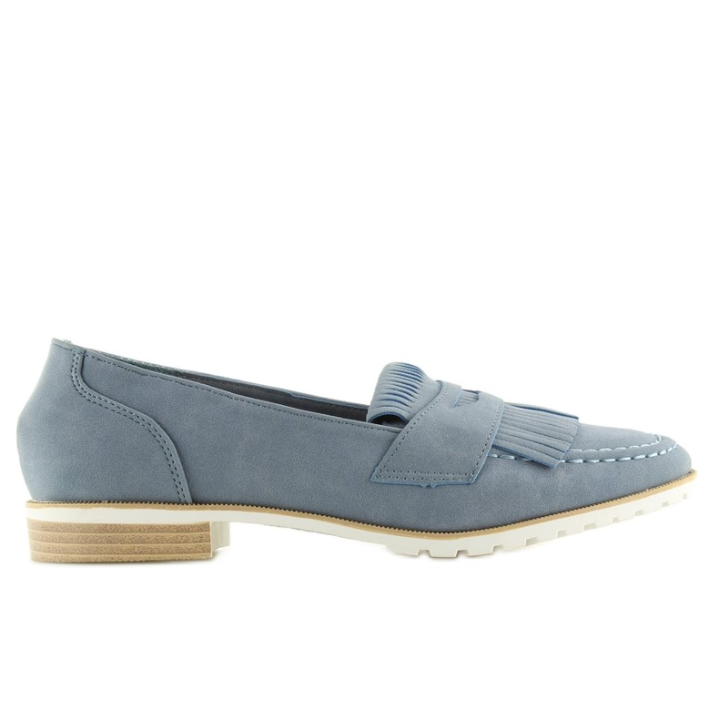 Loafers for women blue 1174 Navy