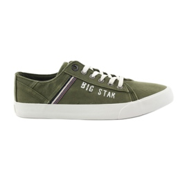 Big star sneakers 174315 khaki sneakers green