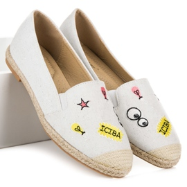 Seastar Espadrilles with patches white