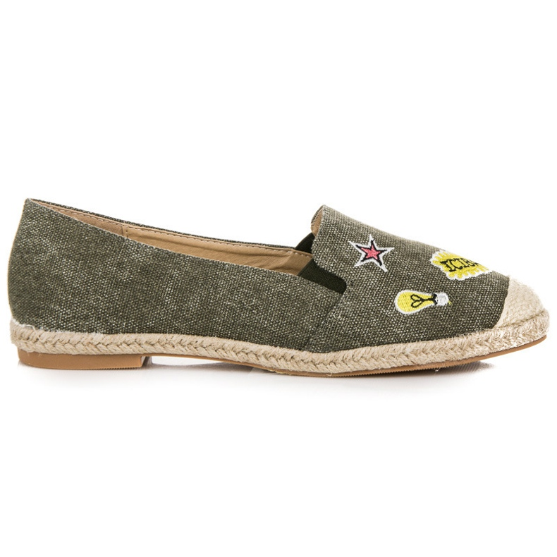 Seastar Espadrilles With Patches green
