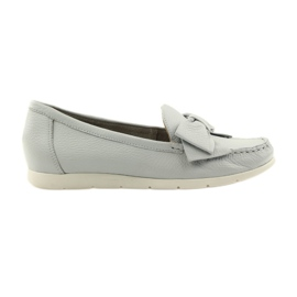 Caprice moccasin women's shoes grey