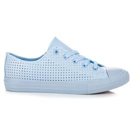 Kylie Openwork Sneakers at Binding blue