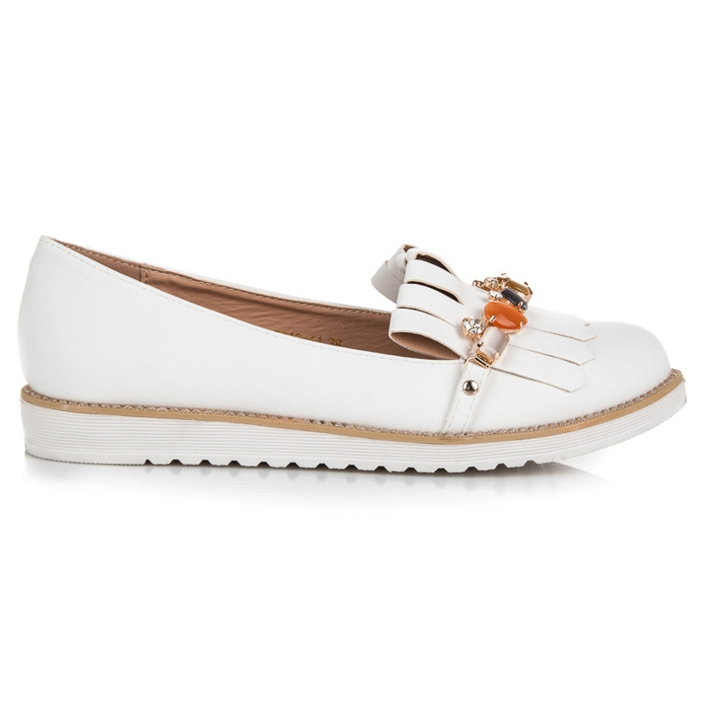 Vices Loafers with beads white