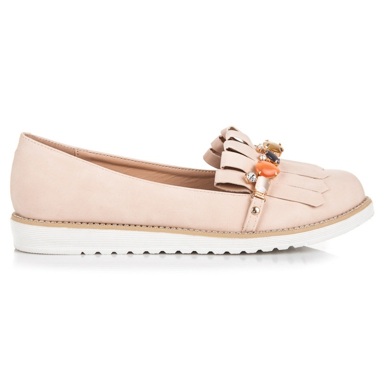 Vices Loafers With Beads brown