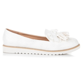 Vices Suede lords with fringes white