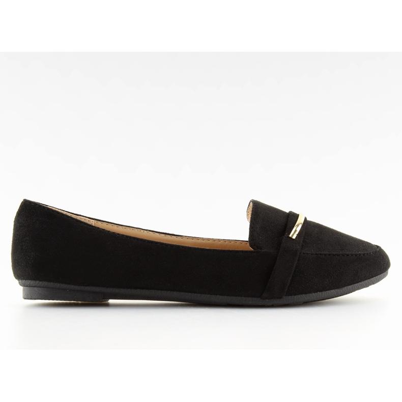 Women's loafers black 9988-121 black