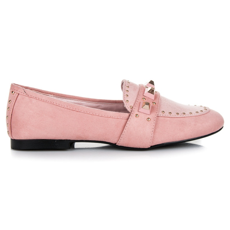 Vices Suede loafers pink