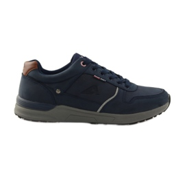 American Club Men's sports sneakers American 610184 navy blue