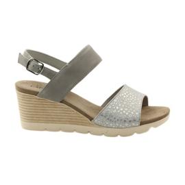 Caprice sandals women's shoes 28701 grey