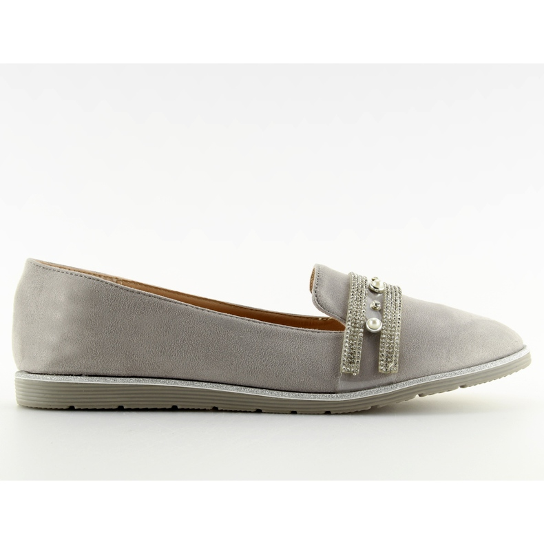 Loafers lordsy gray JN-181 gray grey