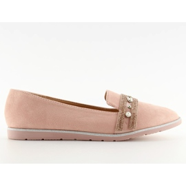 Pink lingua loafers JN-181 Pink