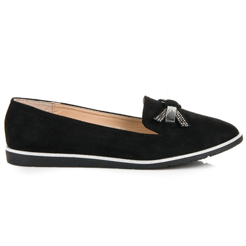 Sergio Todzi Suede lords with a bow black