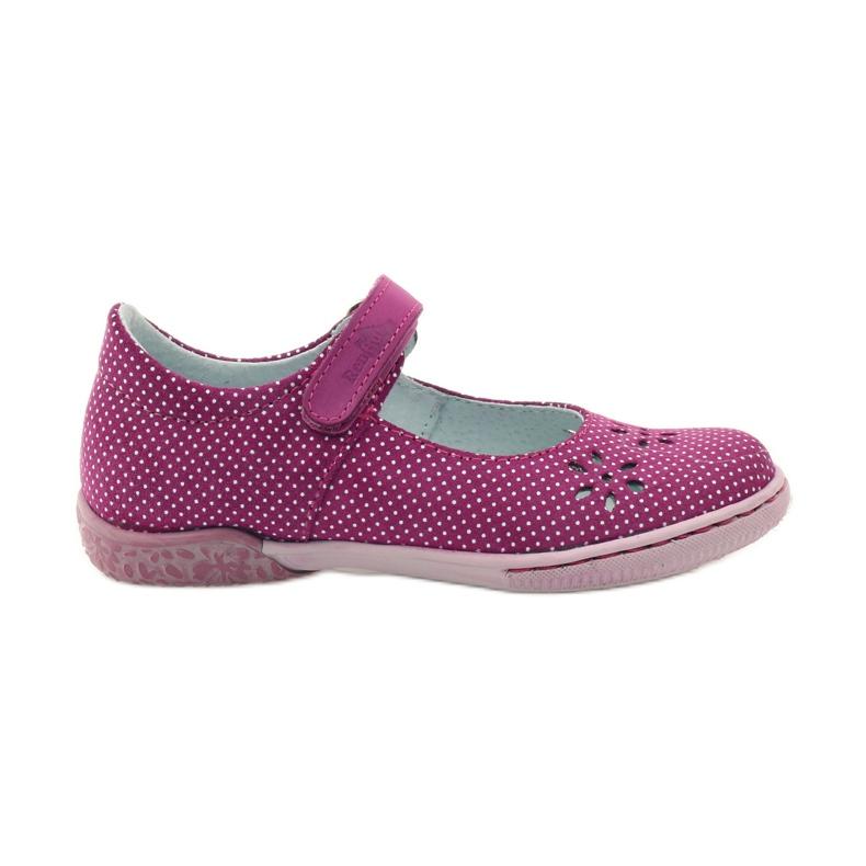 Ballerinas girls' shoes Ren But 3285 pink white