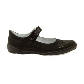 Black Ballerinas girls' shoes Ren But 4351