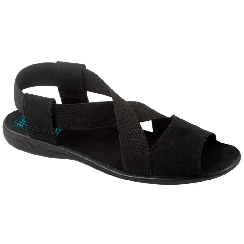 Black women's sandals Adanex 17498