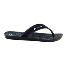 Men's slippers Rider 11073 navy blue
