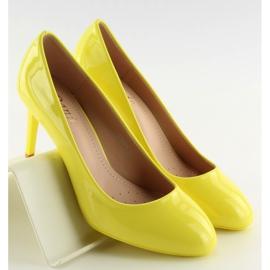 Pumps Women's Patent Yellow Ii-Gat