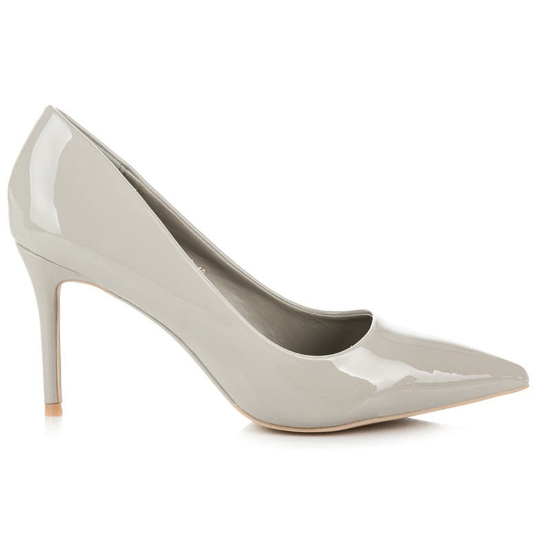Vices Lacquered heels grey