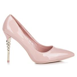 Seastar Heels with decorative heel pink