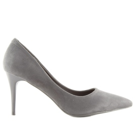 Suede pins Shop Candy gray LEI-90 D.GREY