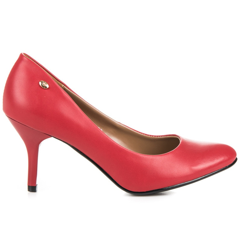 Vices Classic pumps red