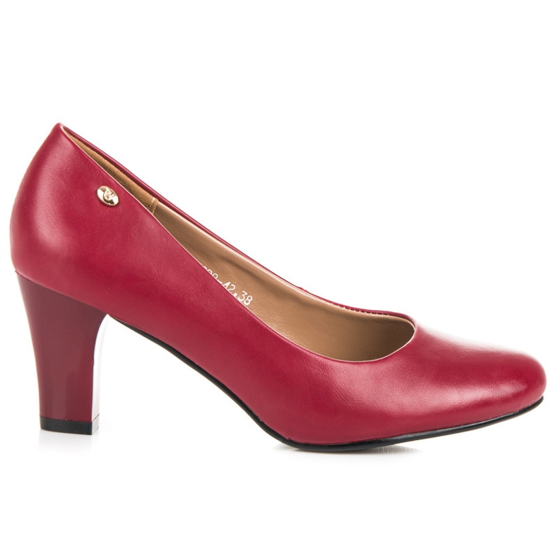 Vices Red Pumps On The Bar