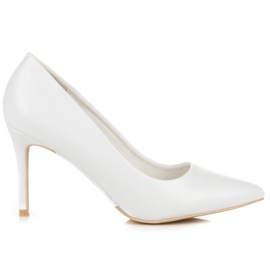 Vices White High Heels