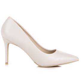 Vices Pastel heels brown