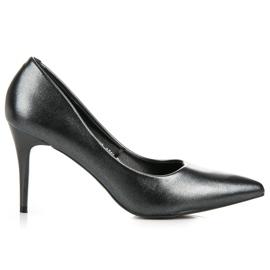 Vinceza Elegant Pearl Studs black